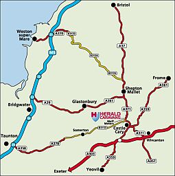 Herald Caravans - map